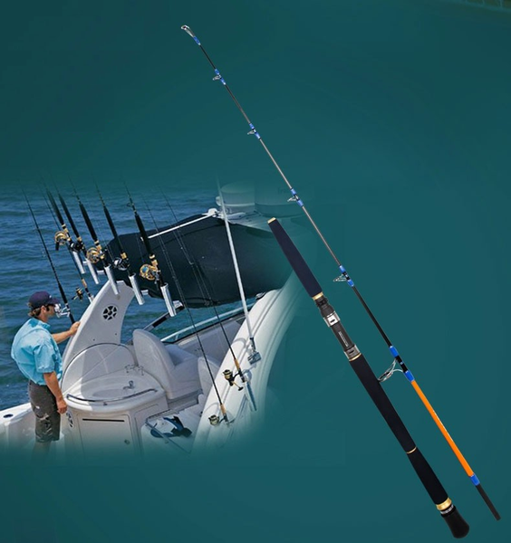 Super Quality Carbon Saltwater Boat Fishing Rod