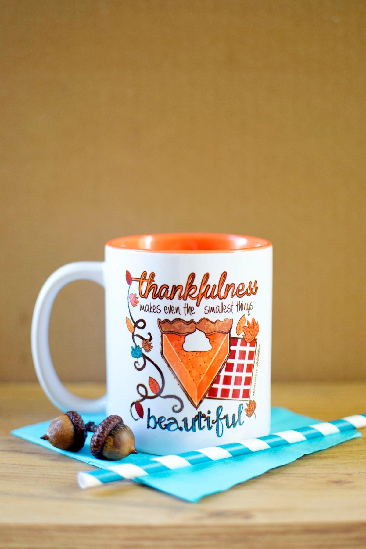Thankfulness Makes The Smallest Things Beautiful Mug