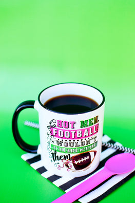 Hot Men Football Mug