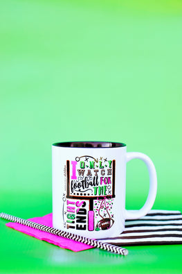 Tights Ends Football Mug