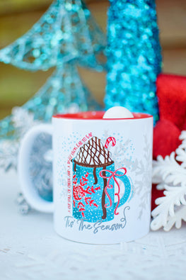 Cup Full of Cheer & A Smile From Ear To Ear Mug