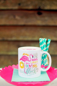 Don't Give A Flying Flock/Feeling Salty Mug