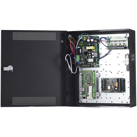 Lockstate 2 door access control system with enclosure and power
