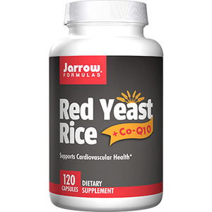 Red Yeast Rice with CoQ10 - 120 Capsules