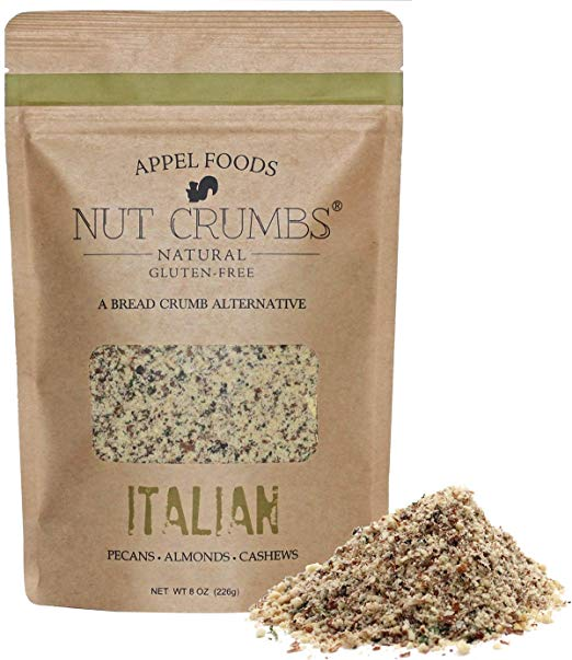 NUT CRUMBS - A Healthy Bread Crumb Alternative