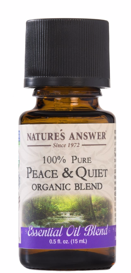 Peace and Quiet Organic Oil Blend