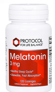 Melatonin 3mg by Protocol for Life Balance