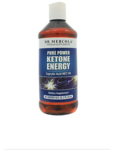 MCT Oil - Dr. Mercola's Pure Power Ketone Energy