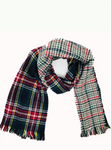 COZY REVERSIBLE PLAID SCARF