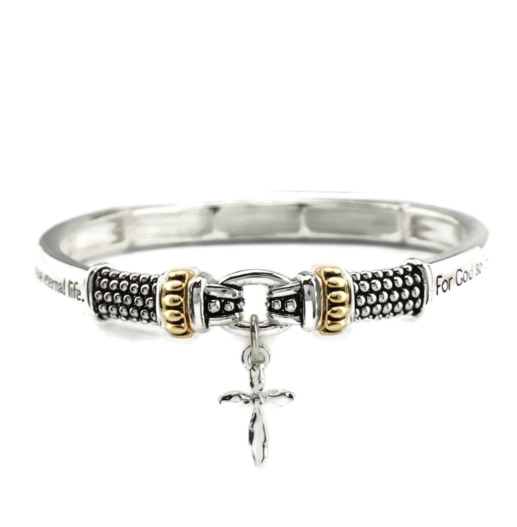 John 3:16 Tailored Look Stretch Bracelet