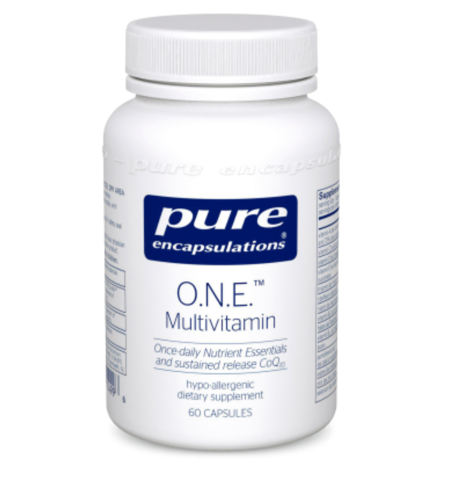 O.N.E. Multivitamin - One Capsule per Day - 60 Capsules