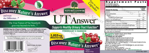 UT Answer Cranberry Capsule