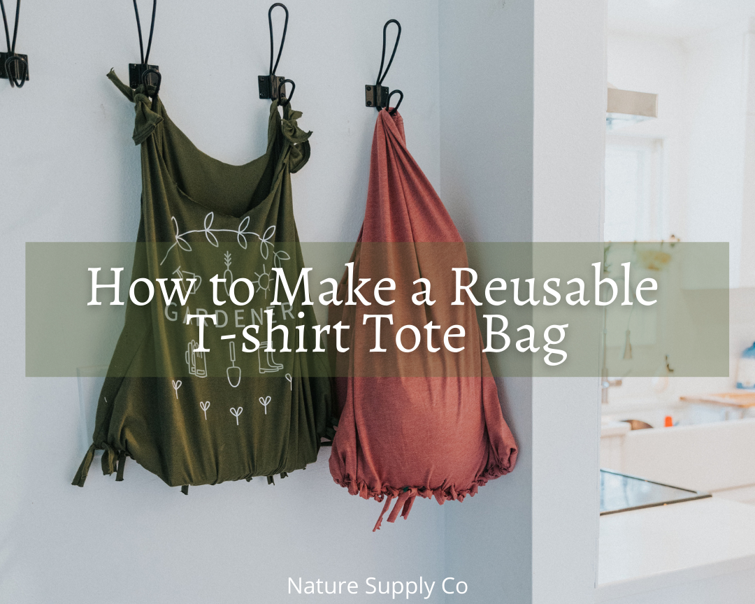 How to Make a Reusable T-shirt Tote Bag