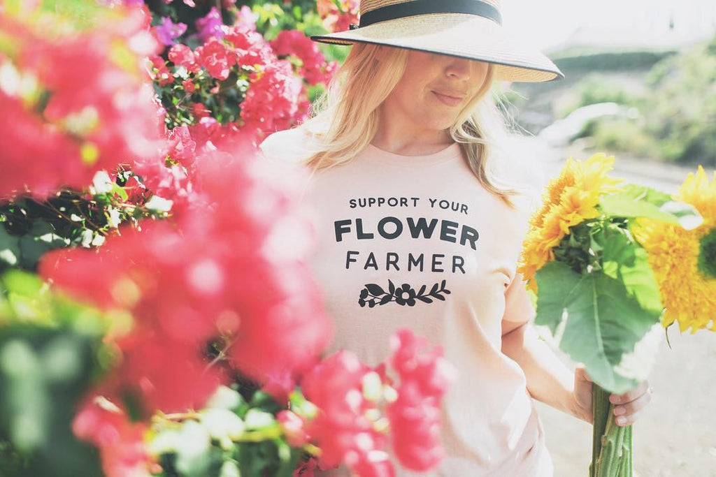 flower farmer, farmer, women who farm, women, blush, florals, summer, farmers market, shop small, small business, shop local, local, support, community