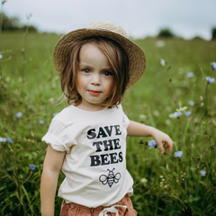 Save the Bees tee by Magnolia Roots