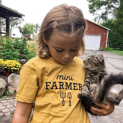 Mini Farmer Tee - Kids