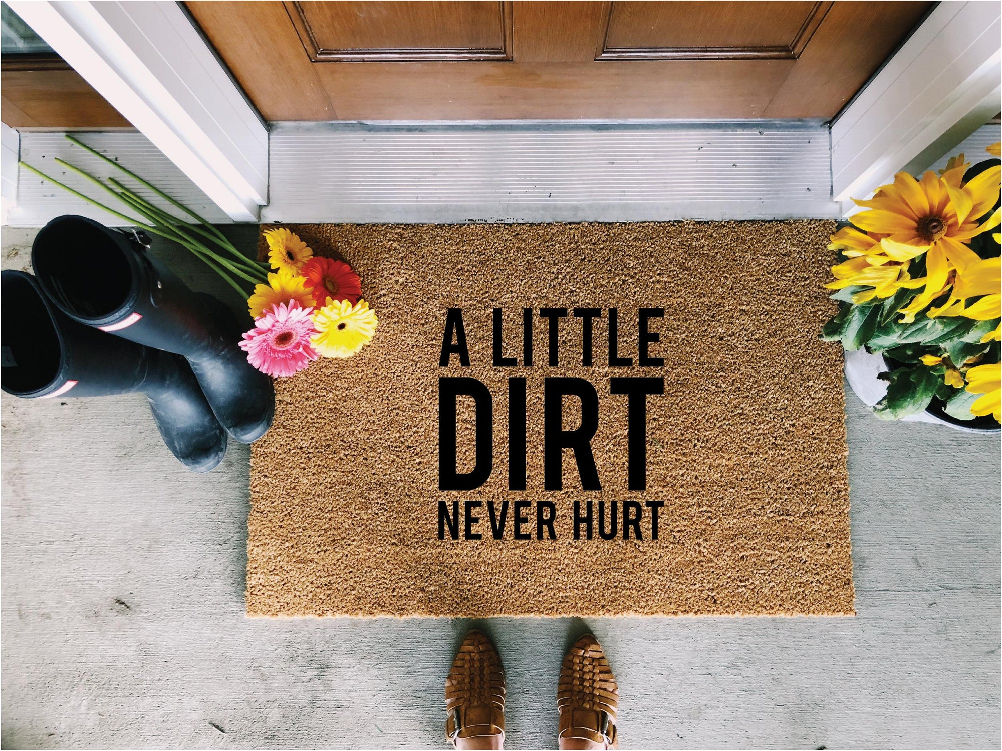 Dirt Never Hurt Doormat