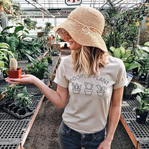 Adopt a Plant Tee by Magnolia Roots