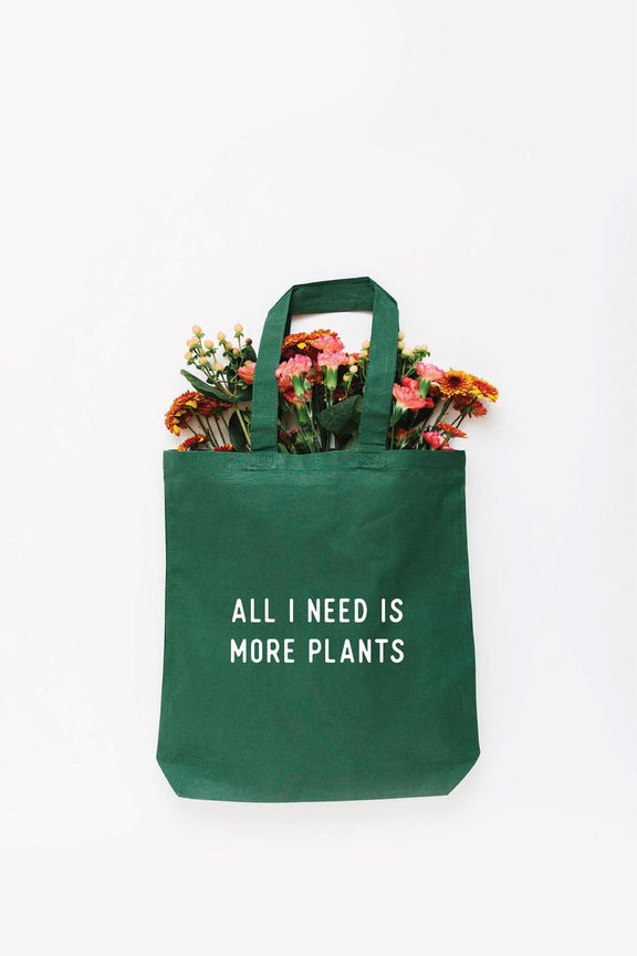 More Plants Tote Bag