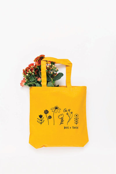 Bees + These Tote Bag