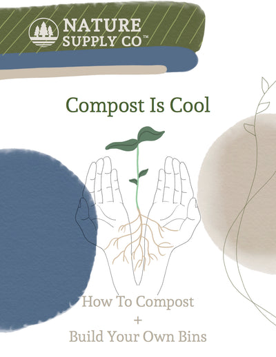 Compost is Cool: How to Compost + Build Your Own Bins