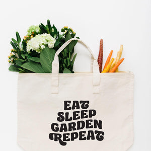 Eat, Sleep, Garden, Repeat Tote Bag