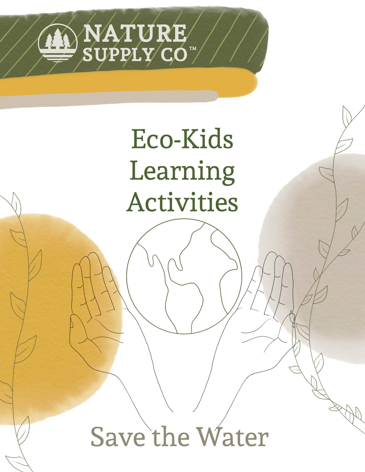 Eco-Kids Learning: Save the Water