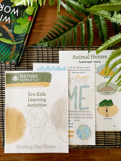 Eco-Kids Learning: Sharing Our Home