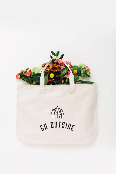 Go Outside Tote Bag