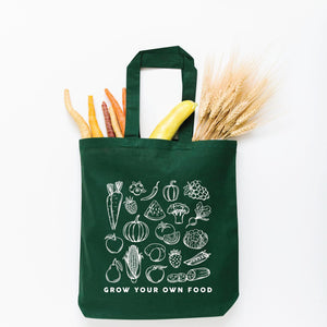 Grow Your Own Food Tote Bag