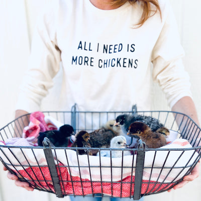 More Chickens Long Sleeve Shirt