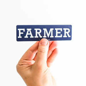 Farmer Sticker