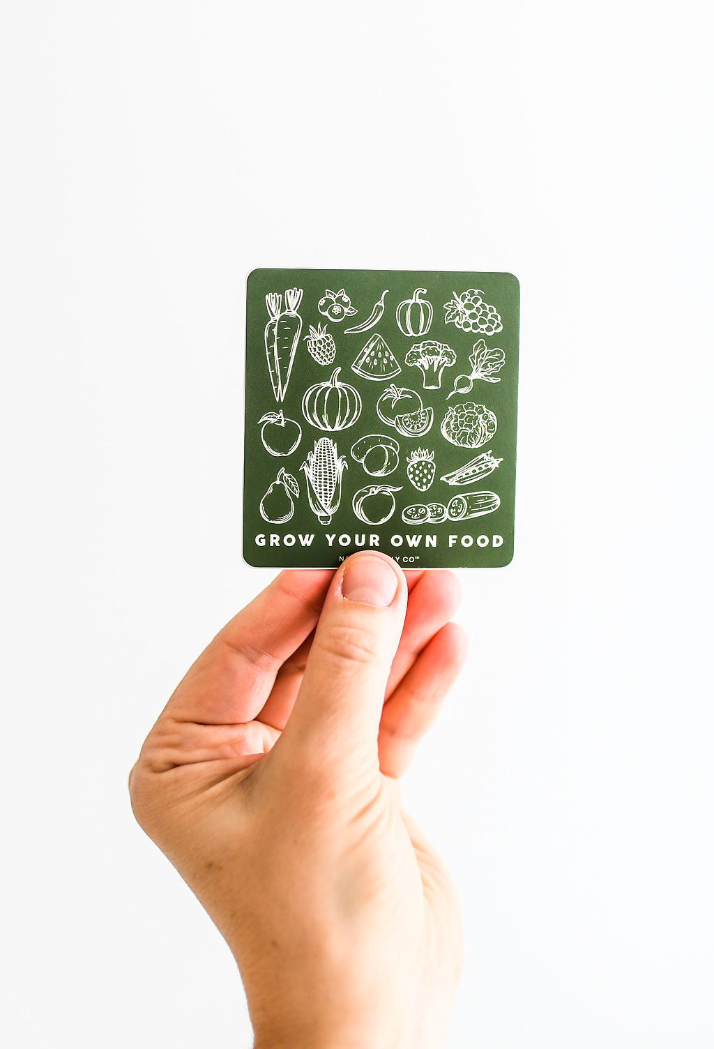 Grow Your Own Food Sticker