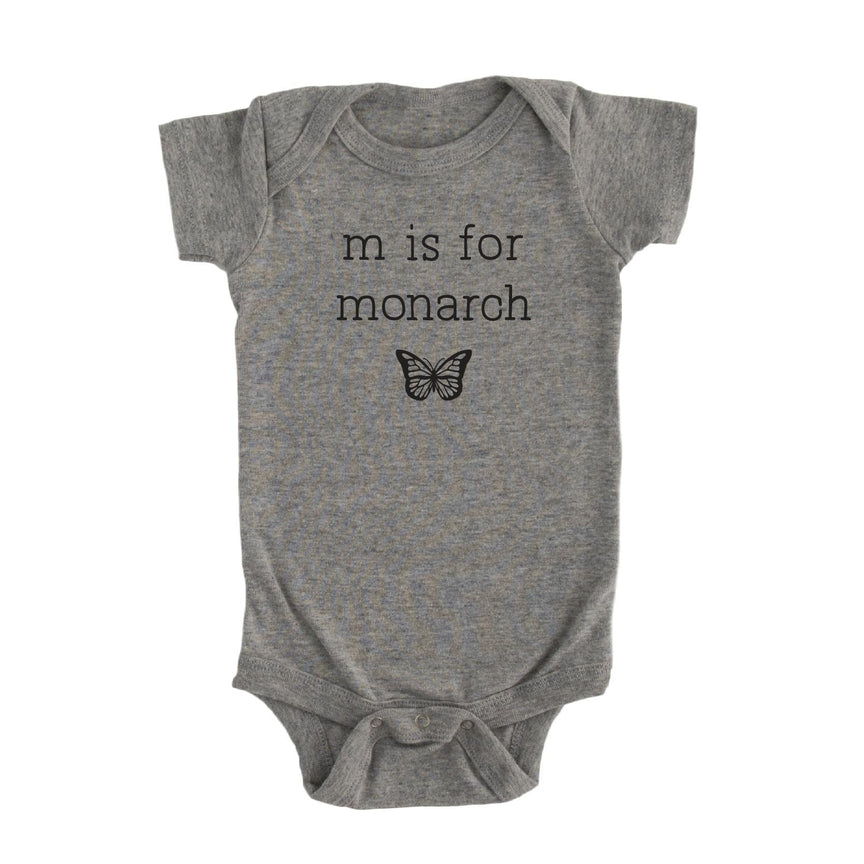 M is for Monarch Onesie
