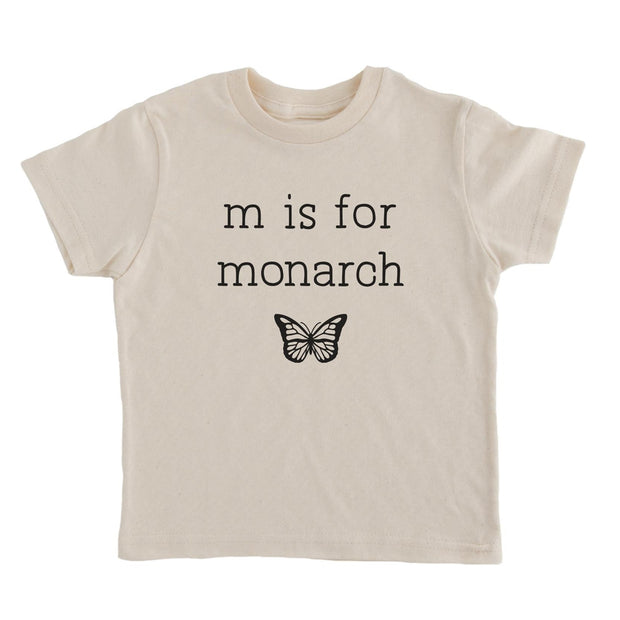 M is for Monarch Tee - Kids 1