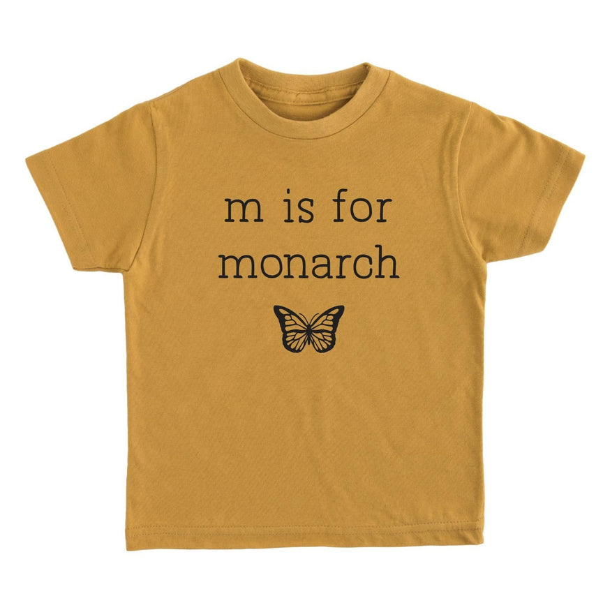 M is for Monarch Tee - Kids