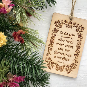 To Do List - Christmas Ornament
