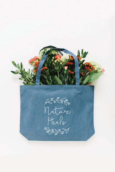 Nature Heals Tote Bag