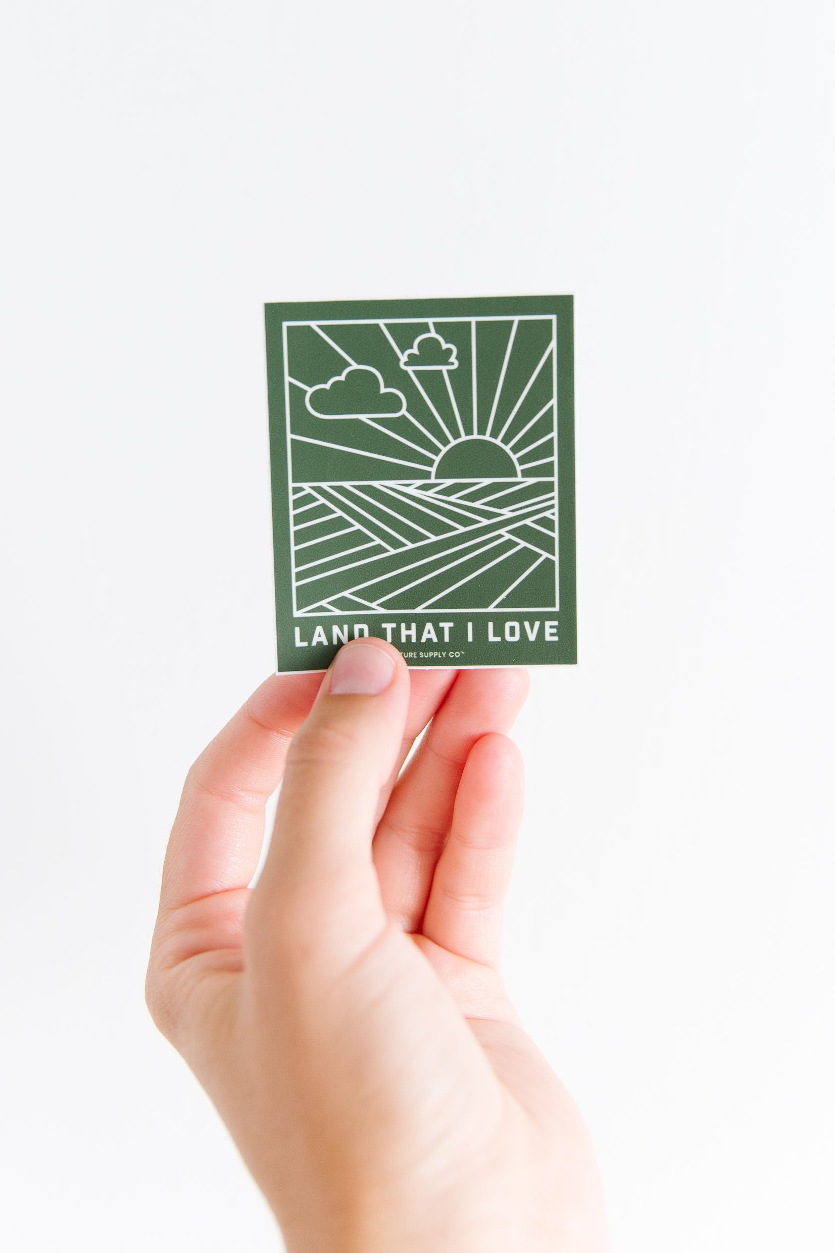 Land That I Love Sticker