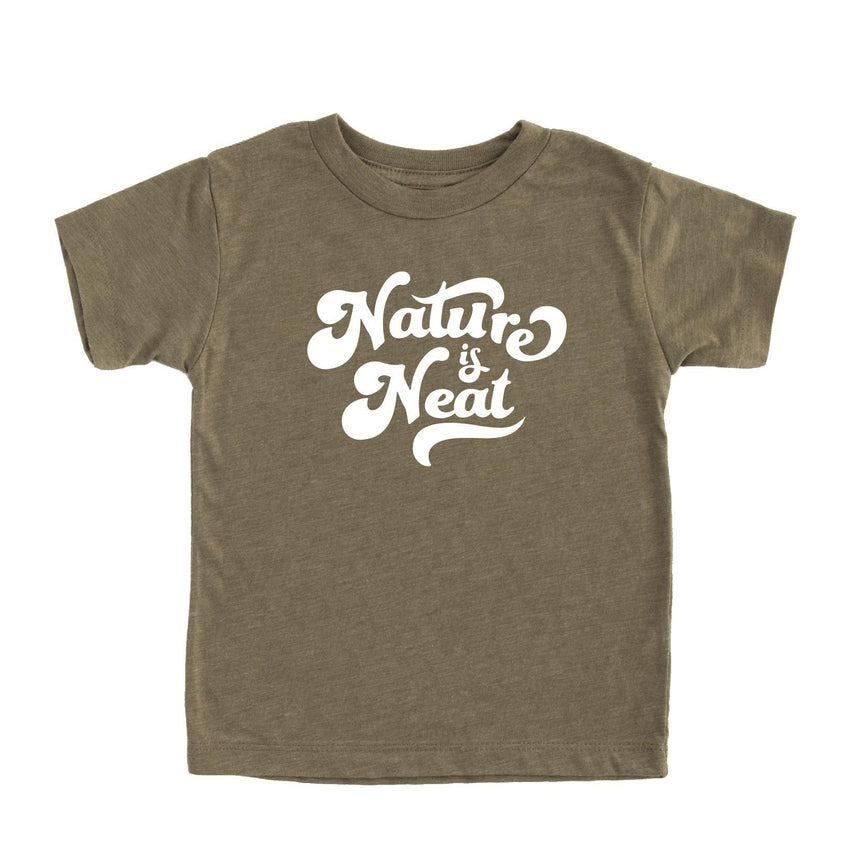 Nature is Neat Tee - Kids
