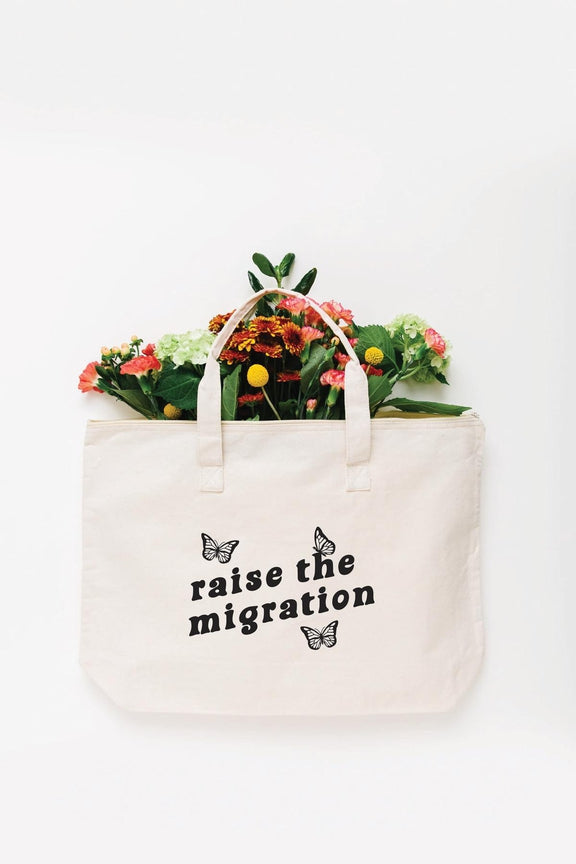 Raise the Migration Tote Bag