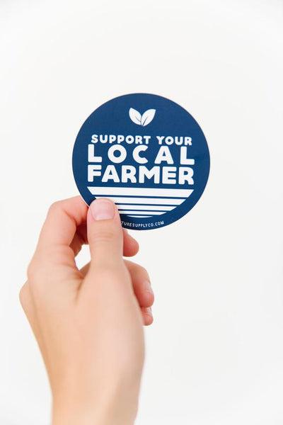 Local Farmer Sticker