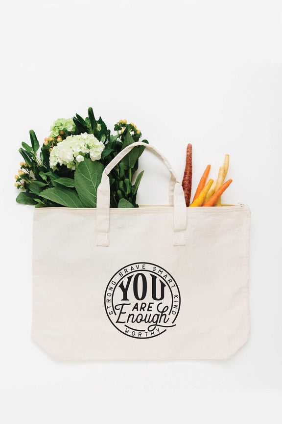 You Are Enough Tote Bag