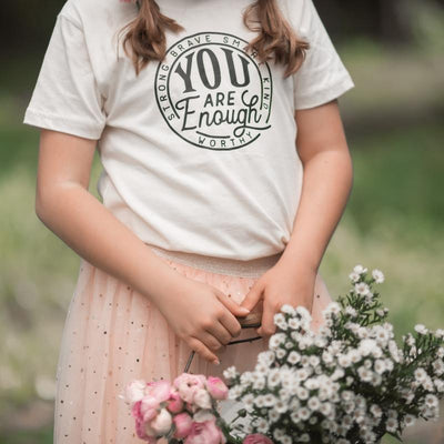 You Are Enough Tee - Kids
