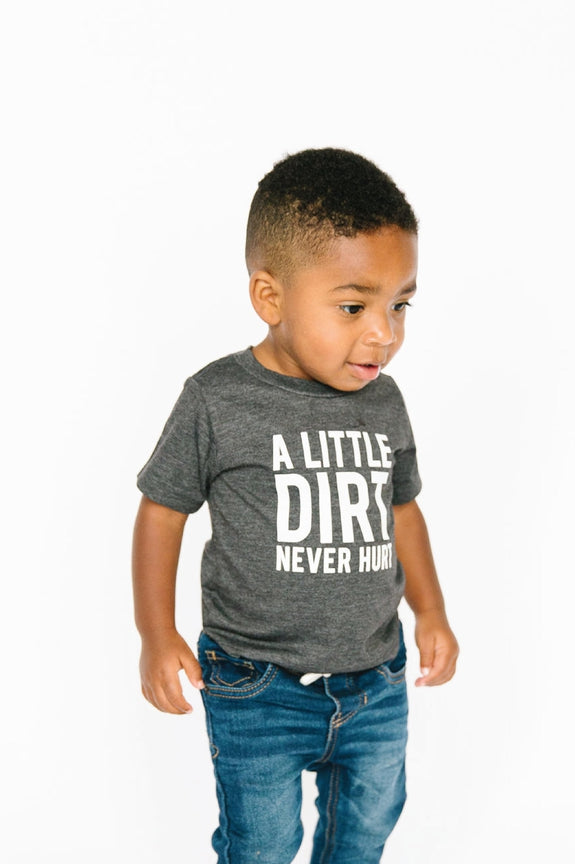 Dirt Never Hurt Tee - Kids