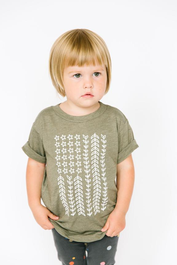Nature Flag Tee - Kids