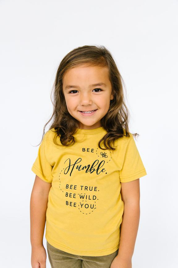Bee Humble Tee - Kids