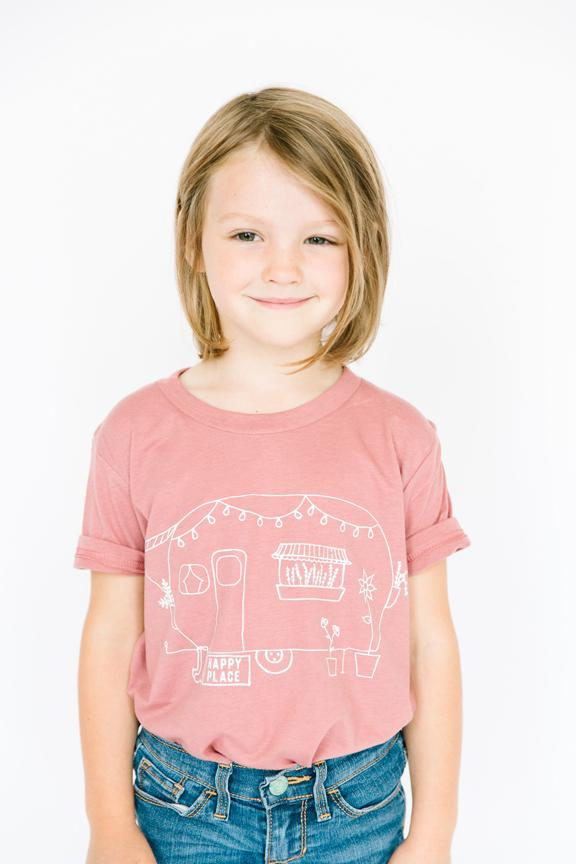 Happy Place Tee - Kids