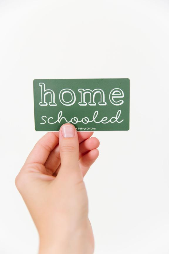 Homeschooled Sticker