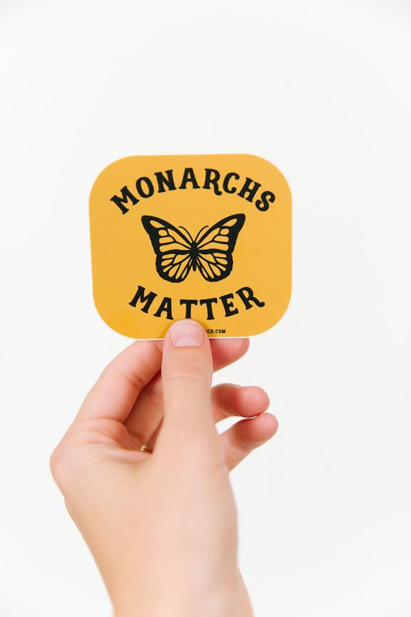 Monarchs Matter Sticker